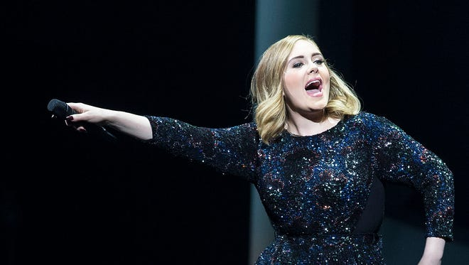 Adele will perform at The Palace of Auburn Hills on Tuesday and Wednesday