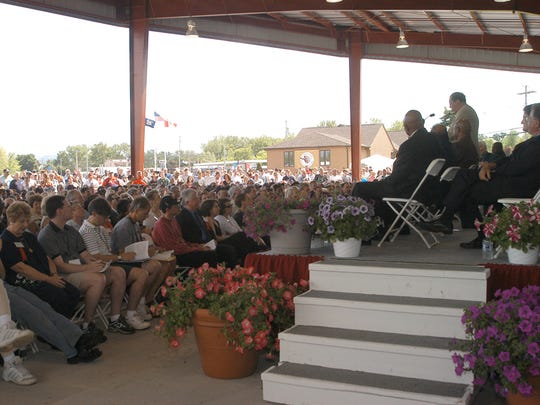 Induction weekend at the International Boxing Hall of Fame always brings a good crowd to Canastota.