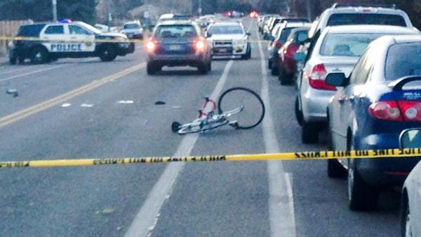 A cyclist was seriously injured in a car vs. bike crash Tuesday afternoon.
