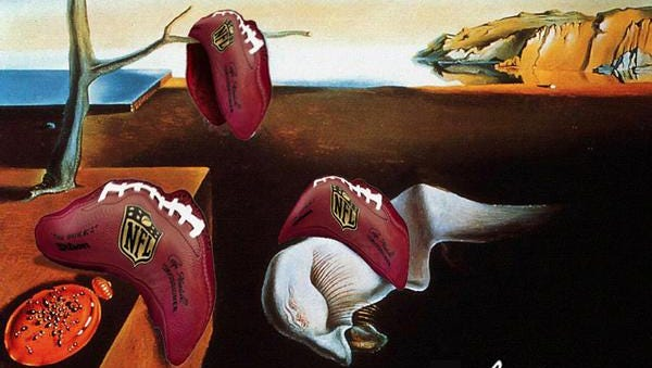 If Bill Belichick takes up painting.