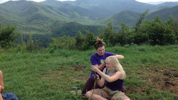 Earth Path Education camp in Candler is one of many summer camps offered in Western North Carolina.