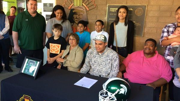 Corona del Sol's Cassius Peat has flipped from UCLA to Michigan State.