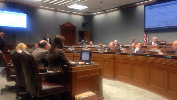 DHH and Health Care Serives appropriations hearing.