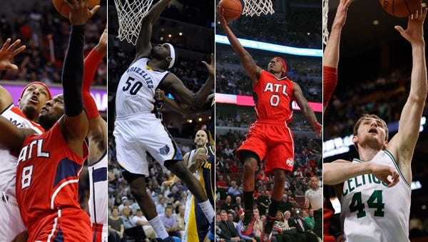 Several former Indiana high school and college stars are in this year's NBA Playoffs.
