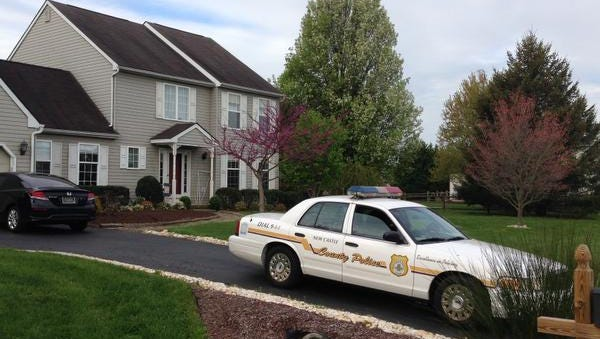 A 20-year-old man, found unconscious Sunday outside a home near Odessa, died after he fought another man at a party, New Castle County police said Monday.