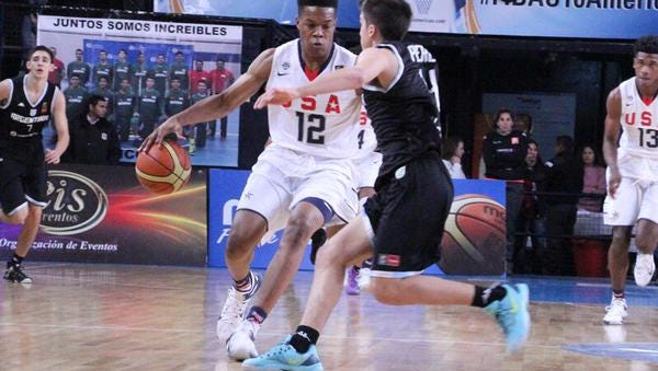 Robert Woodard II becomes the second Mississippian in three years to win gold at the FIBA Americas.