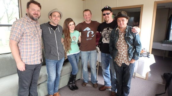 Joshua Davis and his band perform tonight at Common Ground. Here's reporter Anne Erickson with the band.