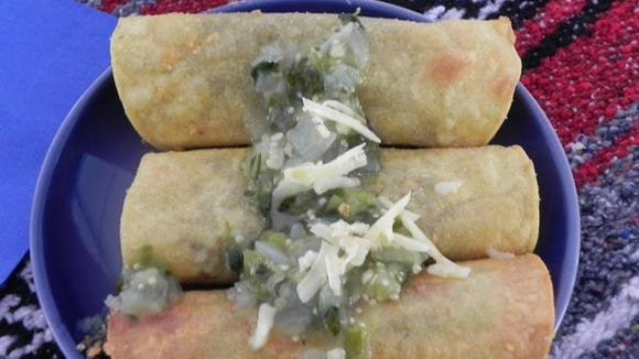 Kathleen Harmon's Mushroom Taquitos won first place at last year's Kennett Square Mushroom Festival Cook-off.