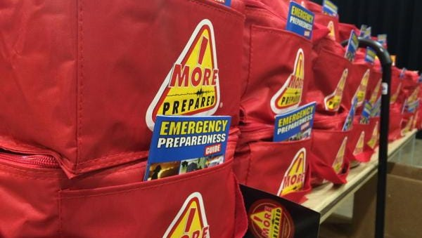 The Dutchess County Health Department held an emergency preparedness drill at the Mid-Hudson Civic Center Wednesday.