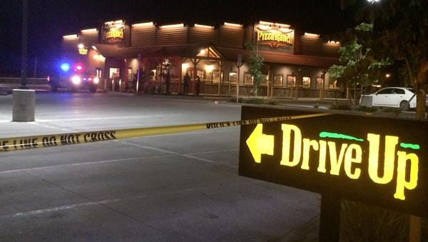Pizza Ranch in Loveland, the scene of a Monday night shooting.