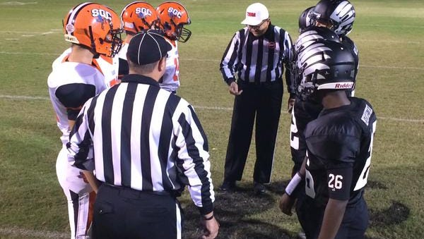 South Gibson vs. South Side cointoss