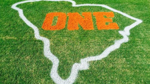 Clemson introduces new logo on the field