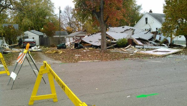 The investigation into Thursday's home explosion in Muncie was expected to continue Friday morning.