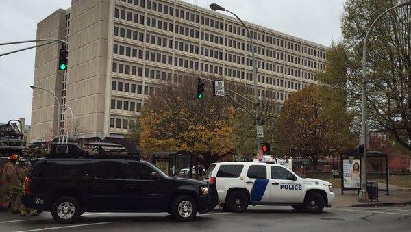 Federal building in Louisville.