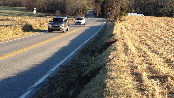 A 47-year-old man died after a crash Sunday night in Paradise Township, according to the York County Coroner's Office.