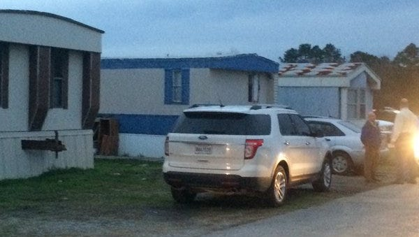 A suspect was taken into custody following a standoff with Scott police.