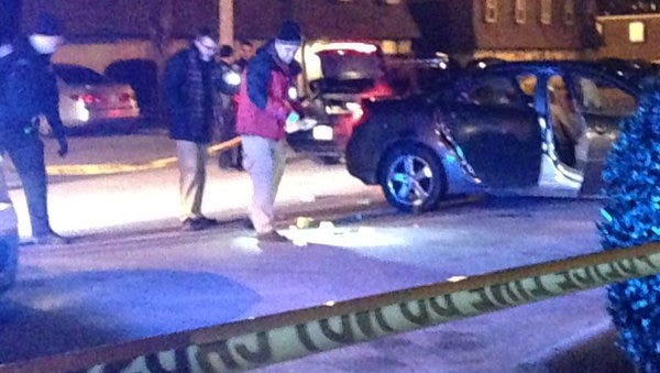 A 23-year-old man was shot at The Villages at Old Hickory apartment complex late Tuesday night.