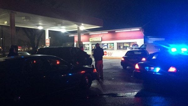 The clerk at this store in Cumberland was fatally shot Friday night while employees in training looked on, according to police.