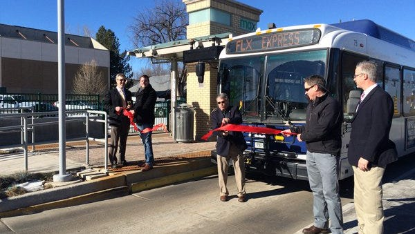 FLEX from Fort Collins to Boulder officially launched Thursday, Jan. 21, 2016.