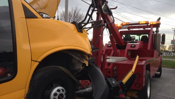 Minor injuries resulted from a Thursday morning crash in Jackson Township, according to police.