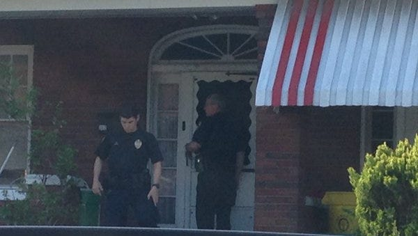 York City Police arrested a man at his home on Kurtz Avenue in York.