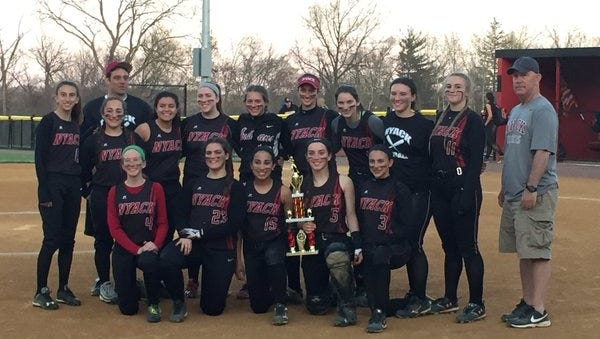 Nyack won the Red & Black softball tournament at Nyack High School on Saturday, Apr. 16, 2016.