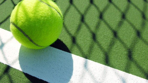 Tennis stock photo.