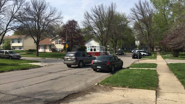 Police are investigating a fight that resulted in a pedestrian hit-and-run on Saturday.
