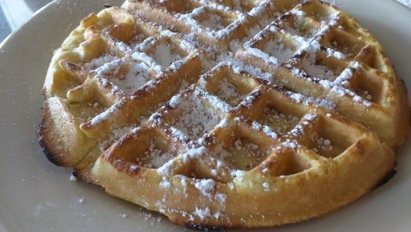 Hen House Eatery's Belgian waffle.