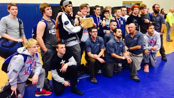 Enka's wrestling team won the two-day Falcon Frenzy tournament at West Henderson.