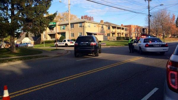 A teen sustained life-threatening injuries after being hit by a car in College Hill Thursday morning, police say.