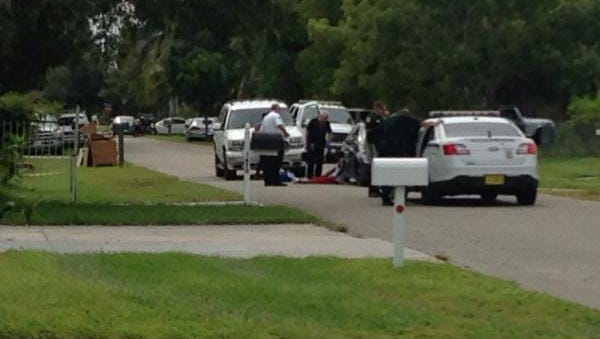 Lee County deputies, EMS on the scene of a incident involving a man injured in east Fort Myers
