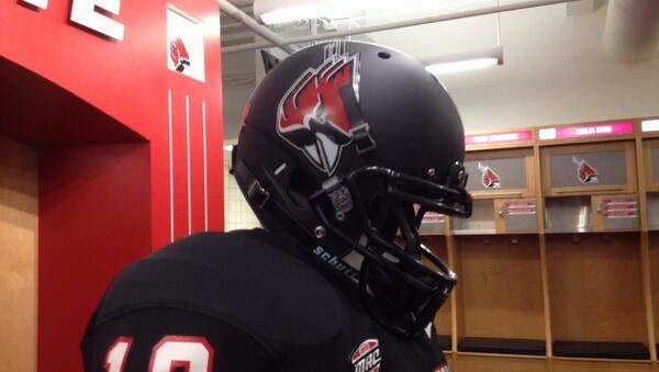 New black helmets, paid for with donor funds, were unveiled Friday morning by the Ball State football team.