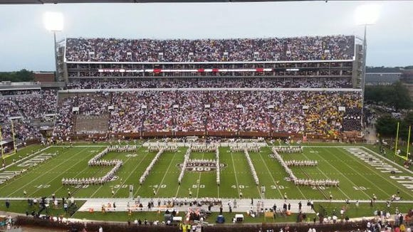 Mississippi State's Famous Maroon Band will honor Jack Cristil, former Voice of the Bulldogs, during the pregame festivities on Saturday.
