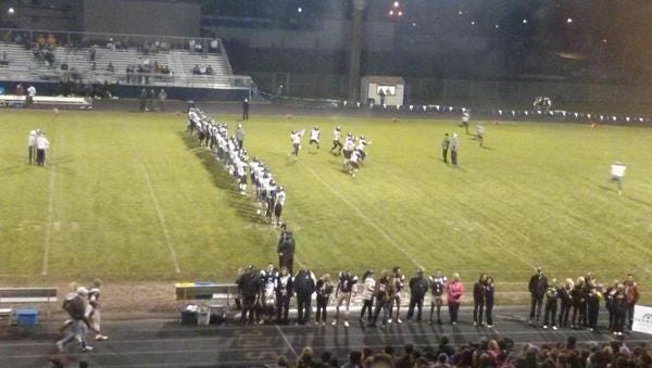 West Salem faces off against West Albany, Oct. 24, 2014.