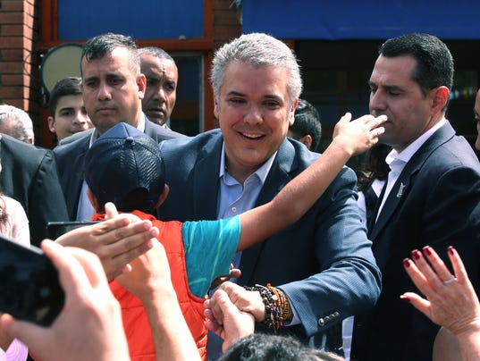 EPA COLOMBIA ELECTIONS POL ELECTIONS COL CU