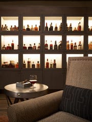 Toro Latin Restaurant & Rum Bar features rum lockers.
