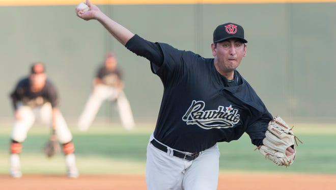 Visalia Rawhide's Justin Donatella is one of the club's top prospects this year.