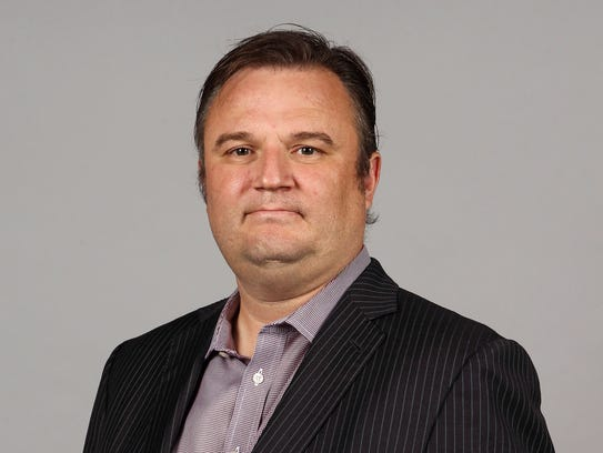 Houston Rockets general manager Daryl Morey during media day at Toyota Center.