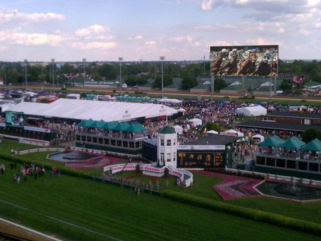 Churchill Downs provided renderings of its new video board to be installed before the 2014 Kentucky Derby and Oaks.