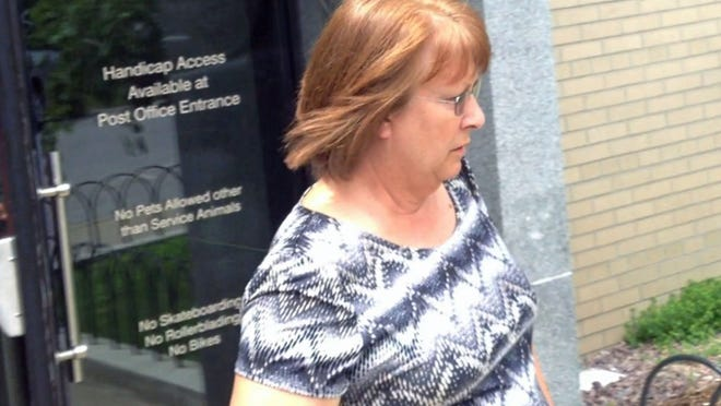 Debra Kinney, former manager of the Border Credit Union in Derby Line, was sentenced in 2013 to three years in prison for embezzling from 33 customers.