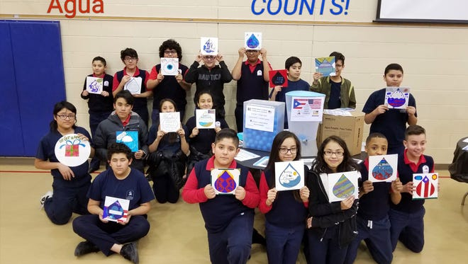 Students from La Causa charter school and the University of Wisconsin-Milwaukee Quest Project have joined a campaign to deliver water purification filters to hurricane-ravaged Puerto Rico.