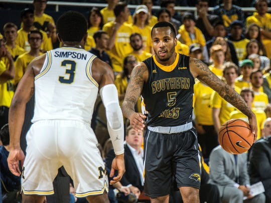 Tyree Griffin averages 16.1 points, 5.7 assists and 4.3 rebounds for Southern Miss.