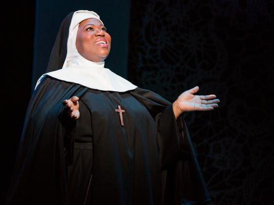 Melody Betts plays The Mother Abbess in The Sound of