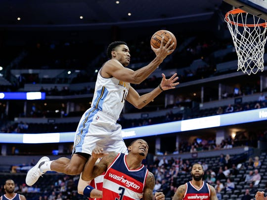 Former MSU star Gary Harris has had a breakout season in his third year with the Denver Nuggets. Harris, as much as anyone in the world, knows the decision Miles Bridges is facing. Harris made it twice, once deciding to return to school and then, a year later, to leave.