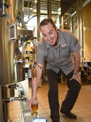 Hutch Kugeman, head brewer for the Culinary Institute