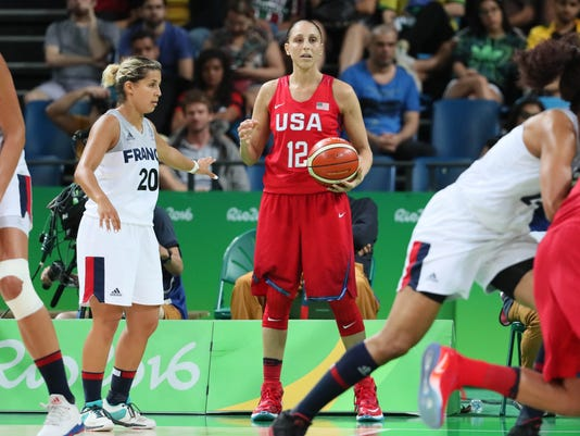 Olympics: Basketball-Women's Team-Semifinal -FRA vs USA