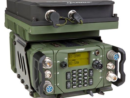 Harris RF Falcon III manpack radio