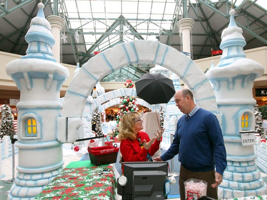 """Jim Hofford  and general manager at the Mall at Greece Ridge, says """"there's something for everyone,""""  in the 1.7 million square foot mall on West Ridge Road."""