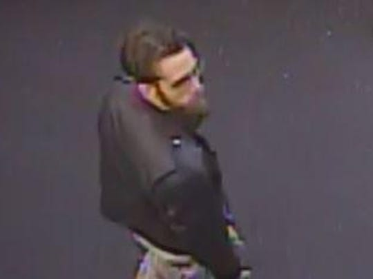 Police are looking for this man in connection with the theft of several vehicles.